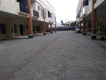 Newly Built 4 Bedroom Terrace, After Blenco Supermarket, Sangotedo, Ajah, Lagos, Terraced Duplex for Sale