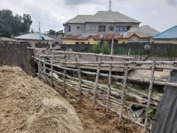 Plot of Land with Ground Floor Slab, Chief Onyima Close, Valley Garden Estate, Ogudu Gra, Via Pako Bus-stop, Ogudu, Lagos, Residential Land for Sale