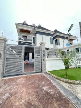 Brand New Fully Detached 4 Bedroom Duplex W/ Bq in an Estate, 5th Roundabout, Ologolo, Lekki, Lagos, Detached Duplex for Sale