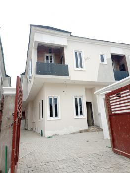 Newly and Luxury Built 4 Bedroom Duplex with Boys Quarter, in a Secured and Friendly Environment By Chevron, Lekki Phase 2, Lekki, Lagos, Semi-detached Duplex for Sale