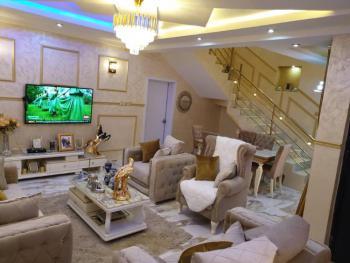 Diplomatic 3 Bedroom Fully Serv& Furnished Duplex,bq, Gardens.., Lifecamp Inside an Estate, Life Camp, Abuja, Terraced Duplex for Sale