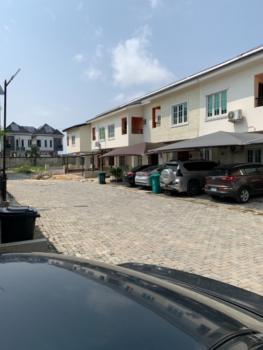 Luxury 3 Bedroom Duplex Carcass, Lekki Paradise 2 Estate, Chevron, Lekki, Lagos, Semi-detached Duplex for Sale