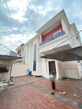 Elegantly Built 4 Bedrooms Semi Detached Duplex with a Room Bq, Chevron, Lekki, Lagos, Semi-detached Duplex for Rent