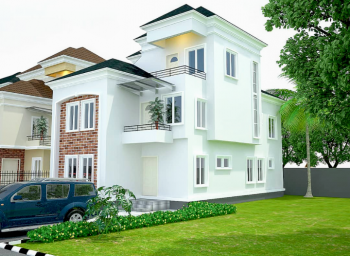 Newly Built 5 Nos 5 Bedroom Duplex with a Bq in an Estate, Ogba, Ikeja, Lagos, Detached Duplex for Sale