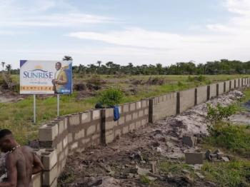 Most Affordable Estate Here in a Fast Developing Area, Sunrise Garden, Ode-omi, Ibeju Lekki, Lagos, Residential Land for Sale