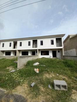 3 Bedroom Carcass Terrace Duplex with 1 Room Bq, Sapphire Gardens Estate, Awoyaya, Ibeju Lekki, Lagos, Terraced Duplex for Sale