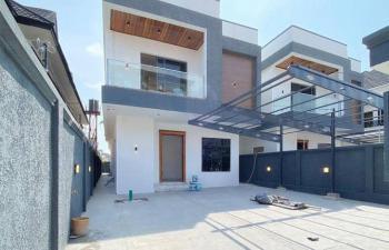 5 Bedroom Fully Detached Duplex with Bq, Gated Estate, Agungi, Lekki, Lagos, Detached Duplex for Sale