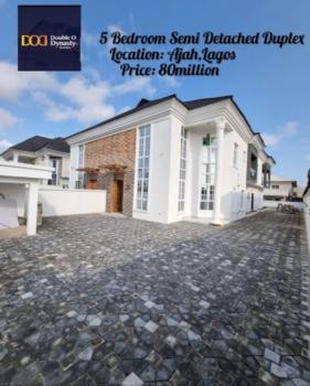 5 Bedroom Semi Detached Duplex, Ajah, Lekki, Lagos, Semi-detached Duplex for Sale