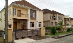 Executive 5 Bedroom with Extra 2 Boys Quarters, Norther Foreshore Estate, Chevron., Lekki, Lagos, Detached Duplex for Sale