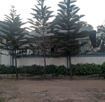 Four Bedroom Bungalow, Umuobia Housing Estate, Umuahia, Abia, Semi-detached Bungalow for Sale