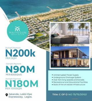 Own a Service Plot, Maiyegun Beach Estate:, Jakande, Lekki, Lagos, Residential Land for Sale