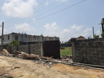 Fenced Full Plot of Land with Governor Consent Title, Gated Estate Within Blenco Supermarket Before Shop Rite, Sangotedo, Ajah, Lagos, Residential Land for Sale