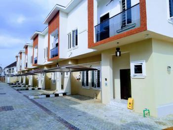 a Luxury 4 Bedroom Terrace Duplex, 2nd Toll Gate Chevron, Lafiaji, Lekki, Lagos, Terraced Duplex for Sale