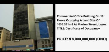 Commercial Office Building, Marina, Lagos Island, Lagos, Office Space for Sale