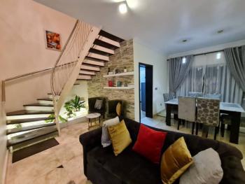 Tastefully Furnished 2- Bedroom Vacation Home, Olayinka Adewuyi Street, U3 Estate, Lekki Phase 1, Lekki, Lagos, Semi-detached Duplex Short Let