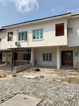 Luxury  4 Bedroom Carcass Duplex with 247 Electricity and Fully Service, Lekki Paradise 2 Estate , Chevron, Lekki, Lagos, Terraced Duplex for Sale