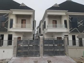 4 Bedroom Semi  Detached Duplex with a Room Bq, By Victoria Bay Estate, Lekki Phase 2, Lekki, Lagos, Semi-detached Duplex for Rent