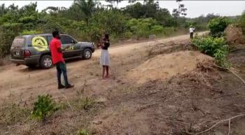 a Lovely Estate Land in a Serene Neighbourhood, Odo Egiri, Epe, Lagos, Mixed-use Land for Sale
