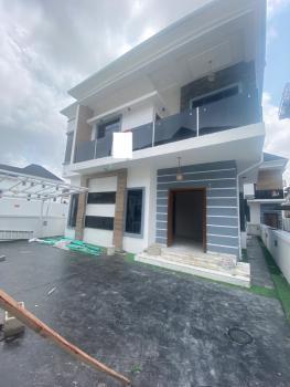 Exquisite Built 4 Bedroom Detached House with a Bq in Secured Estate, Chevron Drive, Lekki, Lagos, Detached Duplex for Sale