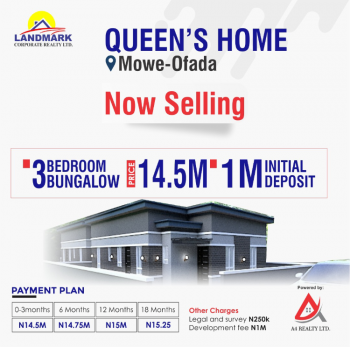 Beautiful Apartments That Wil Relieve From Hustle and Bustle Lifestyle, Mowe Ofada, Ogun, Flat / Apartment for Sale
