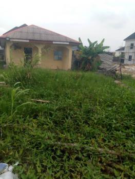 Half Plot with Bungalow, Thomas Estate, Ajah, Lagos, Residential Land for Sale