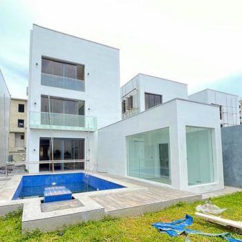 Top Luxury Waterfront 5 Bedroom Detached Duplex with 2 Rooms Bq, Ikoyi, Lagos, Detached Duplex for Sale