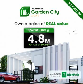 Own a Piece Land with Closeness to The Economic Capital of The Nation., Mowe Ofada, Ogun, Residential Land for Sale