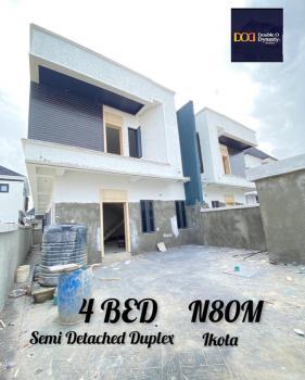 Contemporary 4 Bedroom Semi Detached Duplex, Ikota, Lekki, Lagos, Semi-detached Duplex for Sale