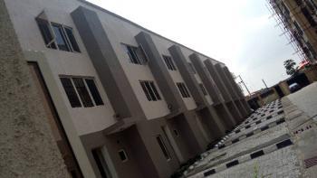 A Lovely Newly Built Serviced 4 Bedroom Terrace Duplex Maisonette With Boys Quarters, Sabo, Yaba, Lagos, 4 bedroom, 4 toilets, 3 baths Terraced Duplex for Rent