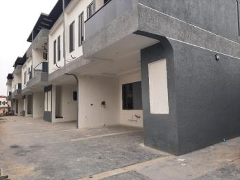 Luxurio 4 Bedroom Smart Terraced Duplex, Serviced with 24 Hours Light, By World Oil Filling Station, Ilasan, Lekki, Lagos, Terraced Duplex for Sale