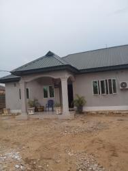 Brand New 3 Bedrooms Detached Bungalow with Did of Conveyance, Akwa Savings and Loan Estate, Uyo, Akwa Ibom, Detached Bungalow for Sale