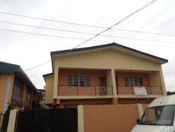 Tastefully Finished  4 Bedroom Semi-detached House with 1 Room Boys Quarter, Olatunji Street, Ojota, Lagos, Semi-detached Duplex for Rent