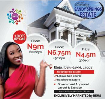 Land, Sandy Spring Estate,, Eluju, Ibeju Lekki, Lagos, Residential Land for Sale
