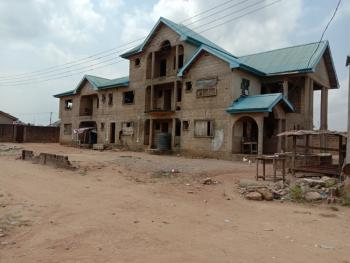 Uncompleted 7 Bedroom with Pent House and 2 Units of 3bedroom Flats., Estate Behind Prayer City, Mfm, Off Lagos Ibadan Expressway, Magboro, Ogun, Terraced Duplex for Sale