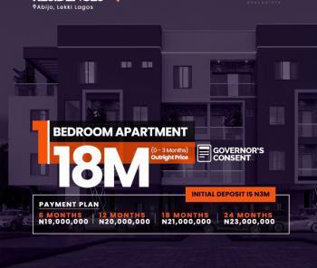 Newly Built 1 Bedroom Apartment Residences, Behind Farra Park Estate, Abijo, Lekki, Lagos, Mini Flat for Sale