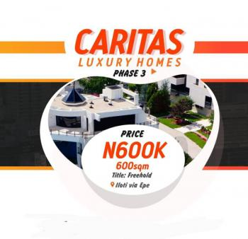 Cheap Land in Strategic Place, Caritas Luxury Homes Phase 3, Epe, Lagos, Mixed-use Land for Sale