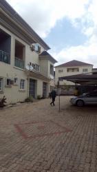 Newly Built 4 Bedroom Terrace Duplex, 1 Servants Room, By Eco Bank, Jabi, Abuja, Terraced Duplex for Rent