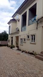 New Built 4 Bedroom Terrace Duplex with 1 Servants Room, By Eco Bank, Jabi, Abuja, Terraced Duplex for Rent