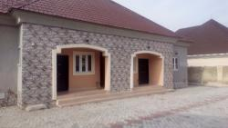 Newly Built 4 Units of 1 Bedroom in a Bungalow.  Lovely Finnish, By Galadima Gwarinpa Estate, Karsana, Abuja, House for Sale