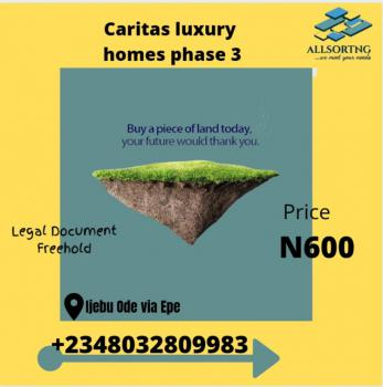 Cheap Land in Serene Area, Caritas Luxury Homes Phase 3, Ijebu Ode, Ogun, Mixed-use Land for Sale