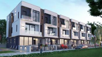 Luxury 4 Bedrooms Terraced House with Bq and Pool, Historian Court, Ayo Babatunde Crescent, Oniru, Victoria Island (vi), Lagos, Terraced Duplex for Sale