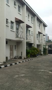 Three Bedrooms Terrace House with Bq, Off Queens Drive, Ikoyi, Lagos, Terraced Duplex for Rent