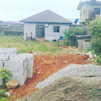2 Plots of Land + a 2 Bedrooms Bungalow, Coka Street, Oworonshoki, Kosofe, Lagos, Detached Bungalow for Sale