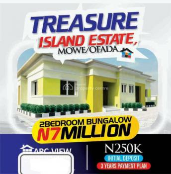 2 Bedroom Semi Detached Bungalow, Treasure Island Estate, Mowe Ofada, Ogun, Semi-detached Bungalow for Sale