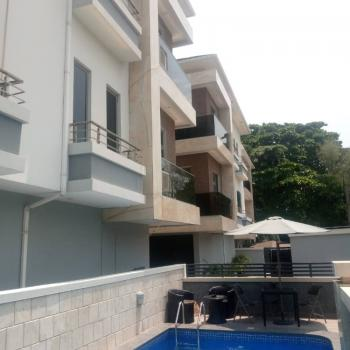 Architectural Masterpiece Furnished, Fully Serviced & Tastefully Finished, Off Bourdillon Road, Ikoyi, Lagos, Terraced Duplex for Rent