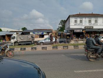 4 Plots of Land Facing The Main Road at Omida, Abeokuta, Omida Road, Abeokuta South, Ogun, Commercial Land for Sale