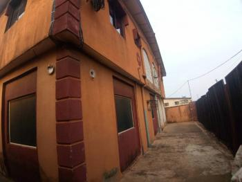 Clean 2 Bedroom Flat, All Tiles Floor, Fence Gate, Water, Shagari Estate, Mosan, Ipaja, Lagos, Flat / Apartment for Rent