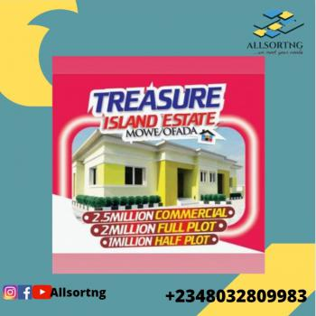 Suitable Dry Land with Instant Allocation, Treasure Island, Mowe Ofada, Ogun, Mixed-use Land for Sale