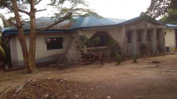 a Well Fenced 6 Bedroom Bungalow with a Fish Pond, Security House and a Generator House. (the Price Is Negotiable), Compensation Layout, Before Mobil Filling Station, Old Kutunku., Gwagwalada, Abuja, Detached Bungalow for Sale