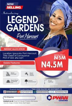 Plot Land in Legend Garden, Igwuruta, Port Harcourt, Rivers, Mixed-use Land for Sale
